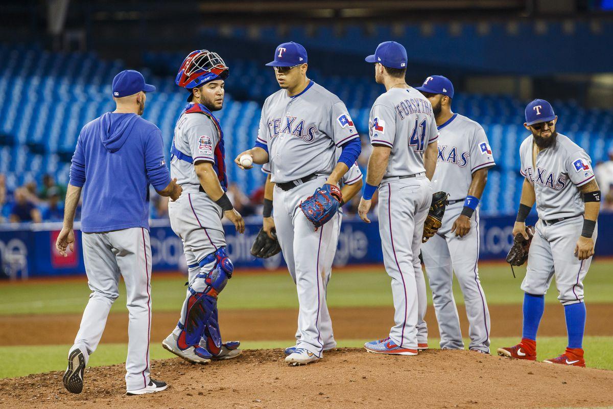 Texas Rangers v Toronto Blue Jays