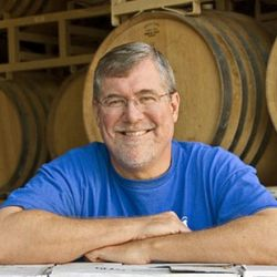Bob Lindquist of Qupe, one of Syrah's pioneers in the Central Coast, who continues to make some of the best Syrah in the state. [source: Qupe]