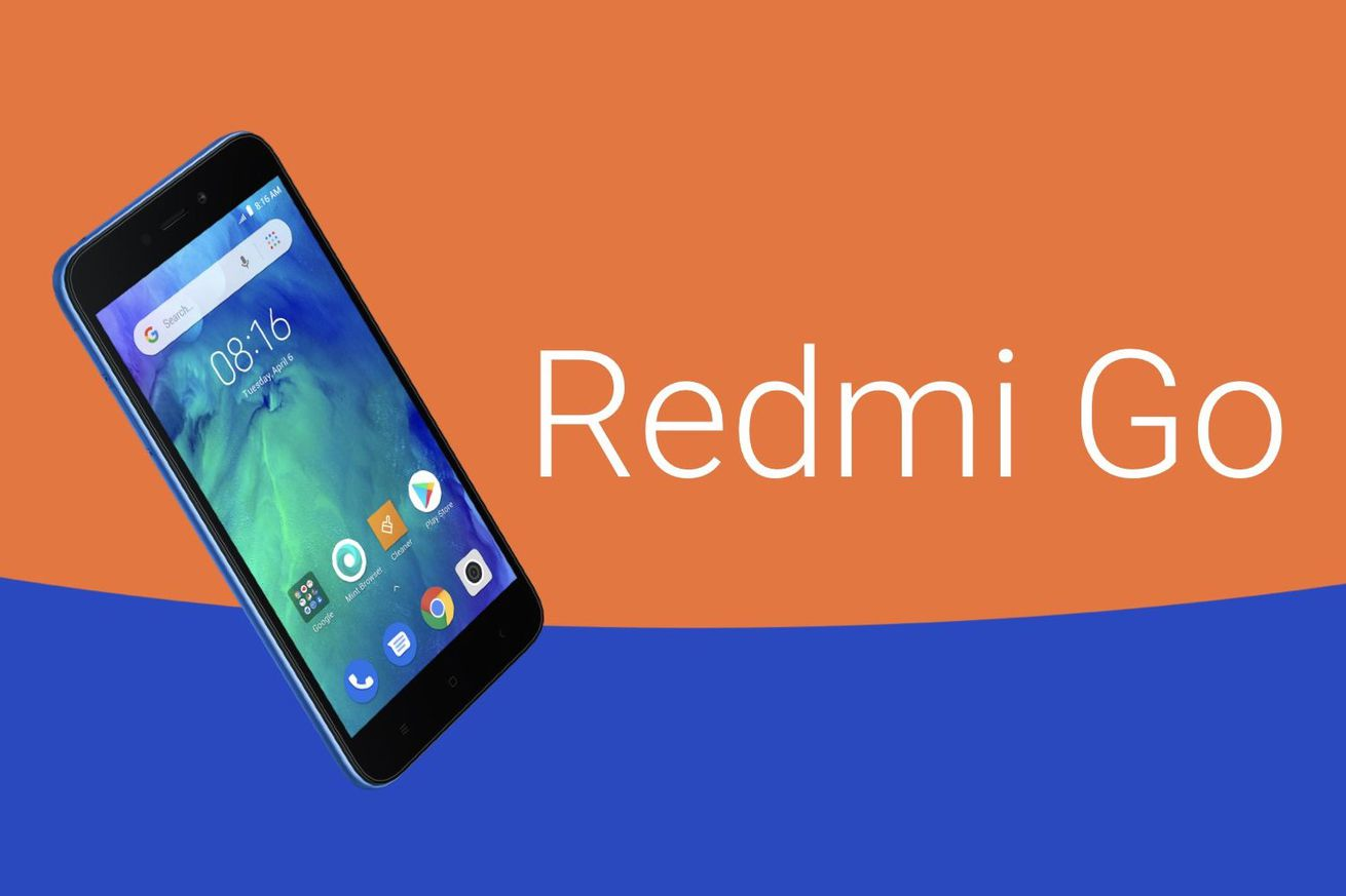 xiaomi announces 65 redmi go for india