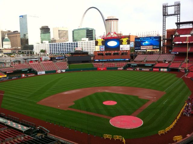 Busch Stadium, one of many ballparks that AT&T has wired up and home of Doublin's beloved St. Louis Cardinals.