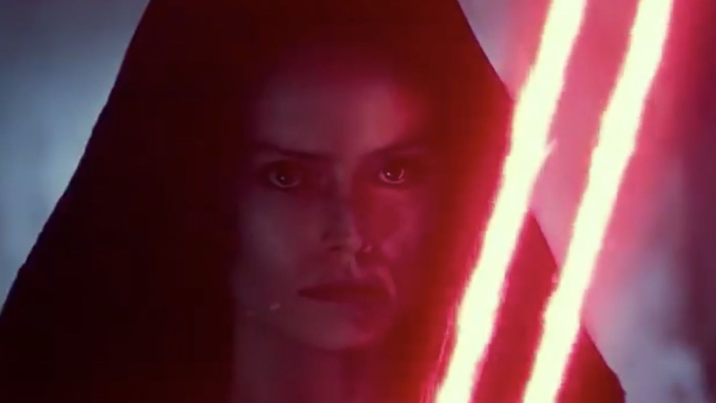Rise Of Skywalker Trailer Rey May Not Be Alone In Dark Side Moment Deseret News