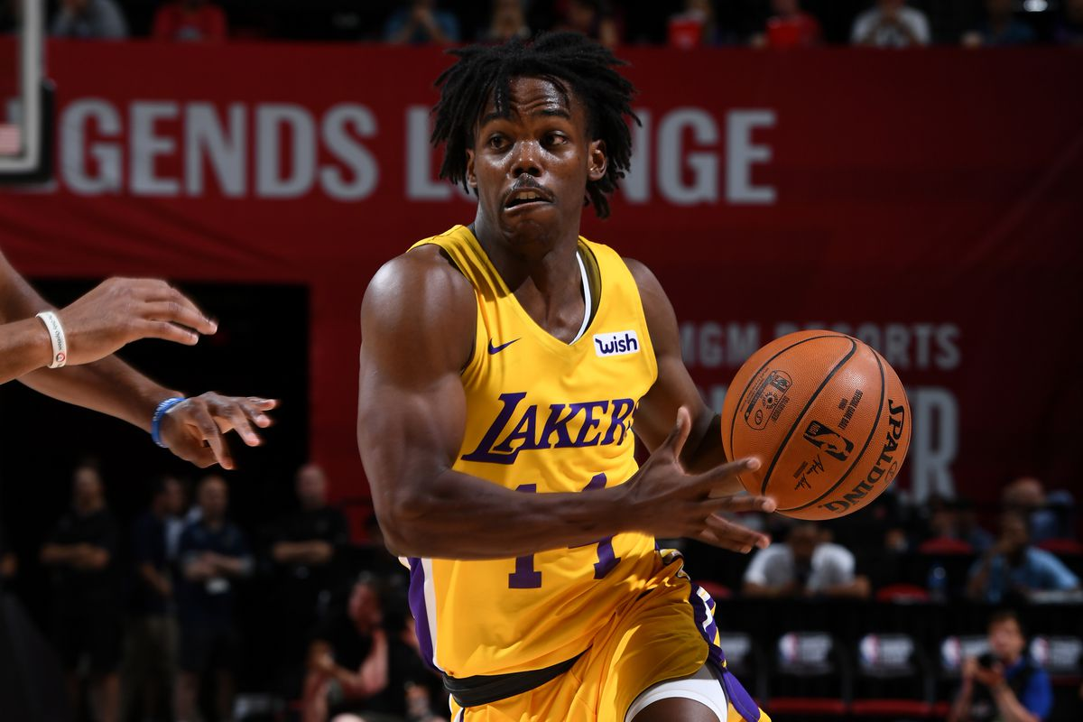 Lakers Summer League Schedule 2020.Lakers Waive Reggie Hearn Sign Marcus Allen Silver Screen