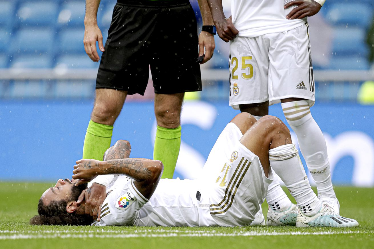 OFFICIAL: Marcelo injury report, will miss El Clasico