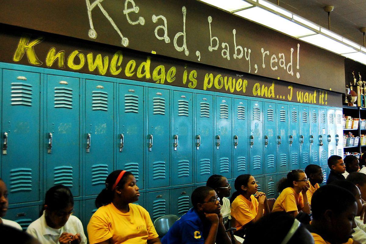A KIPP school in the Bronx.