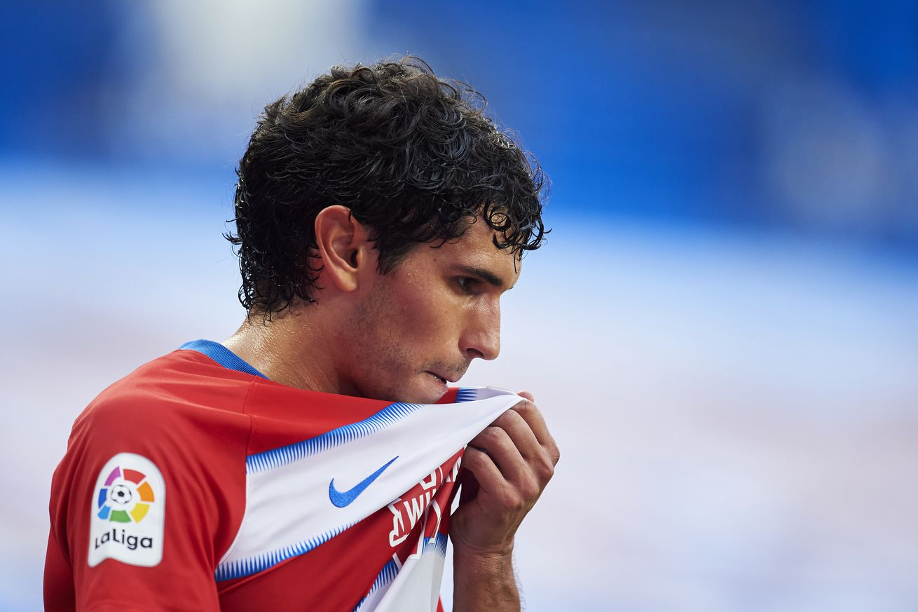 Real Madrid are open to offers for Jesus Vallejo