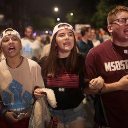 Students from Marjory Stoneman Douglas High School | Scott Olson/Getty Images