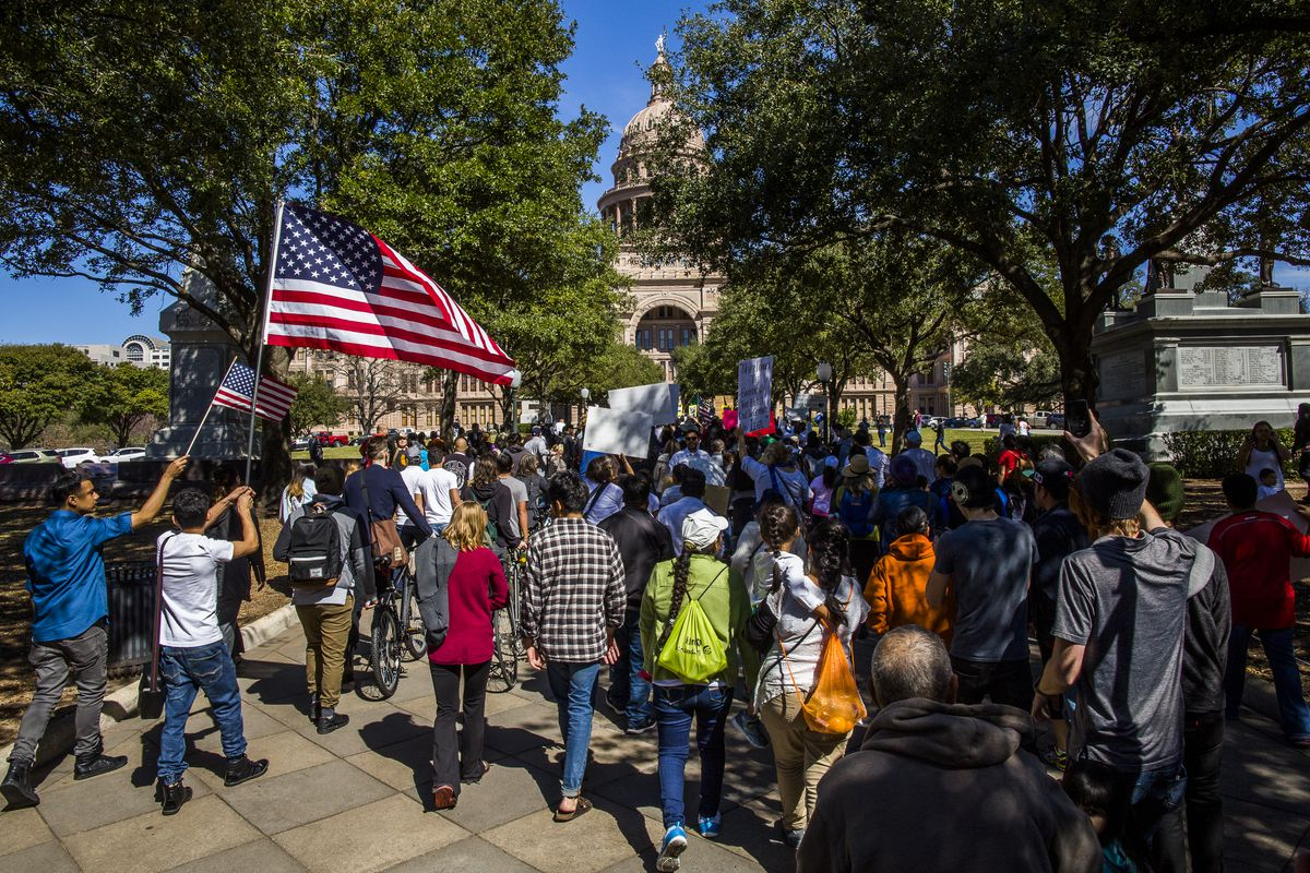 Immigrant Workers Stay Home For 'Day Without Immigrants' Protest