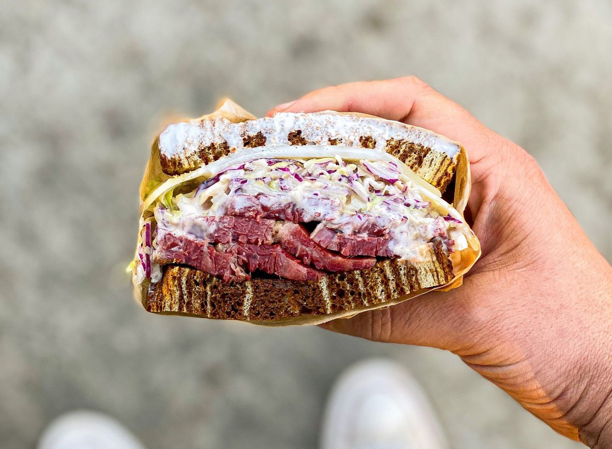 For house-smoked meats in an unlikely place: Element 29 Deli.