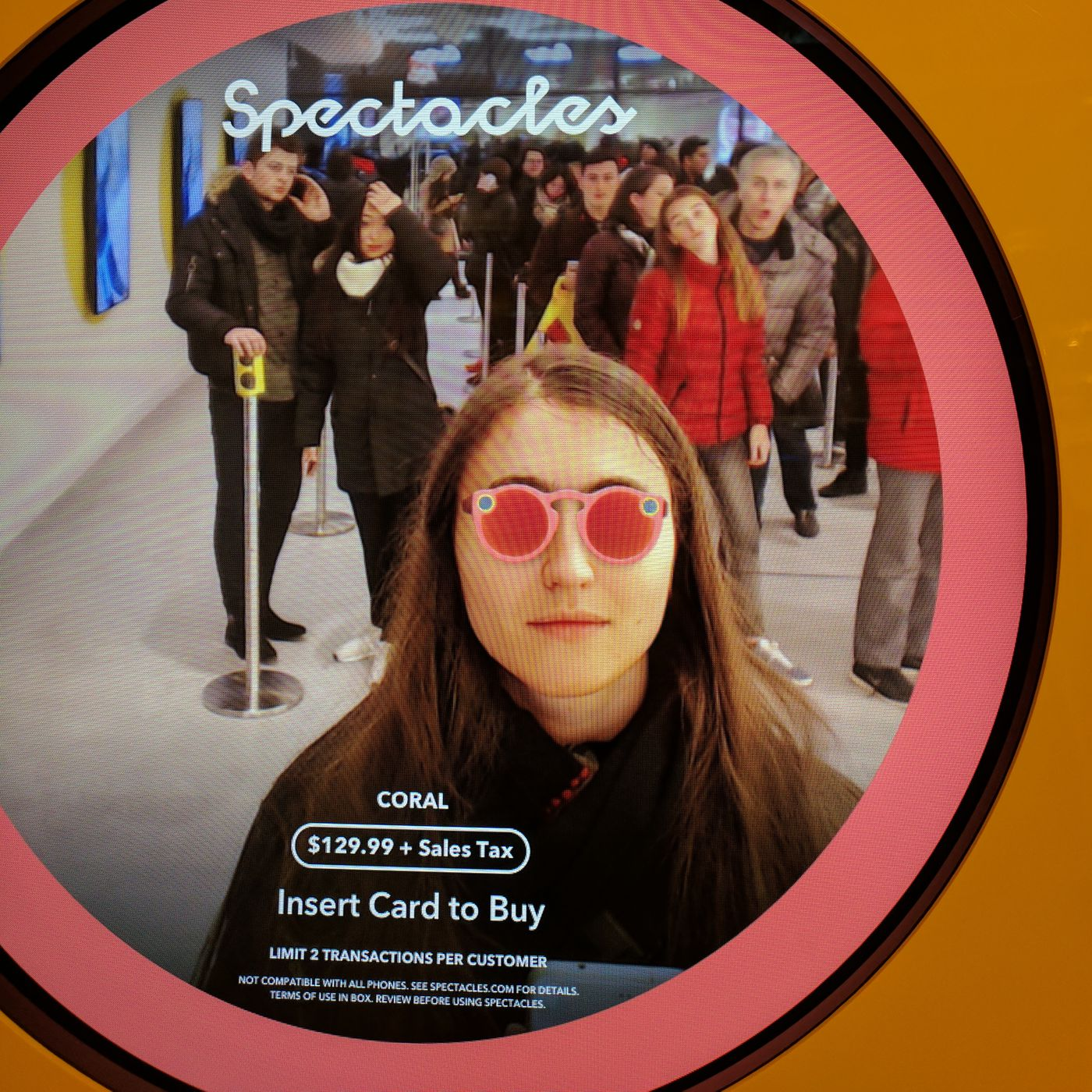 2f00fb0a1d Buying last-minute Snapchat Spectacles for Christmas  Here s what it s like  now