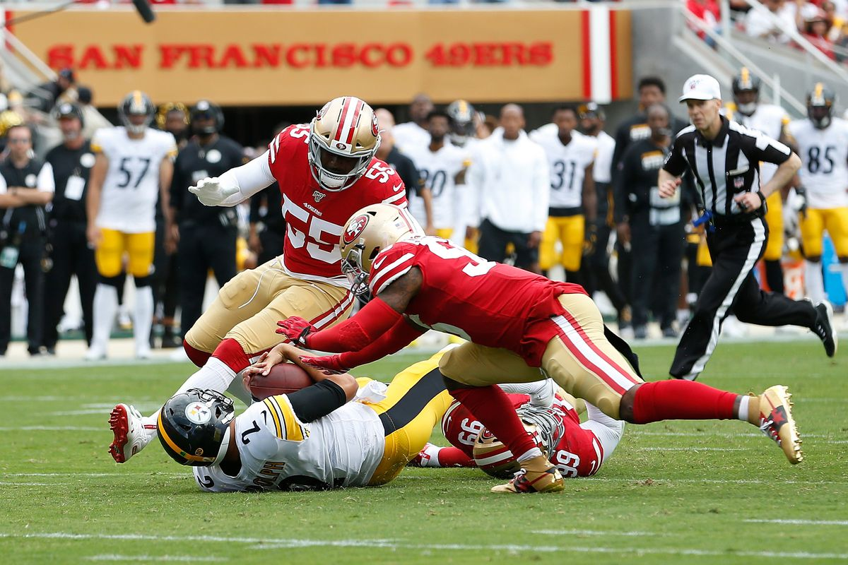 49ers win an ugly one, but they win 24-20. 3-0 and that's all that matters.
