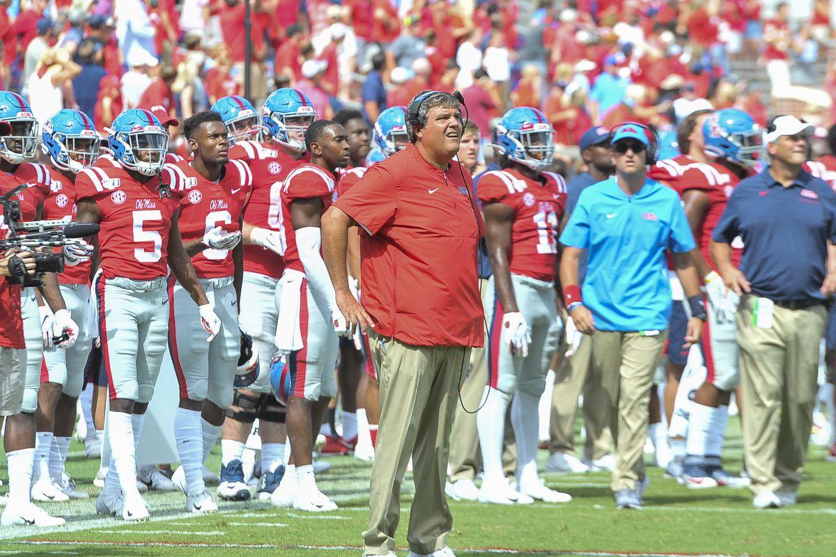 NCAA Football: California at Mississippi
