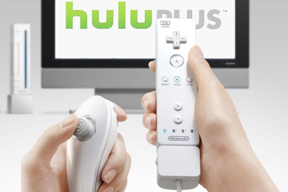 Hulu Plus Nintendo Wii