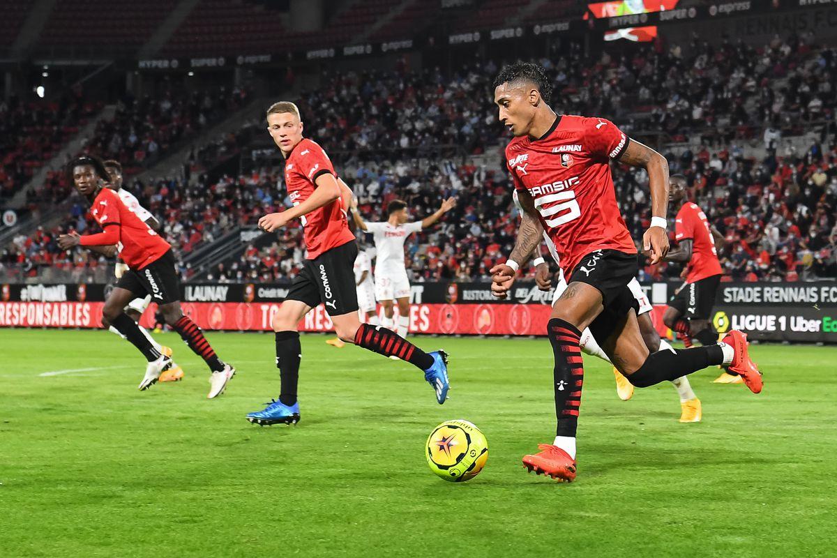 Stade Rennais v AS Monaco - Ligue 1 Uber Eats