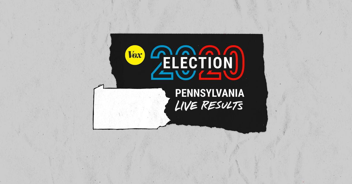 Vox live results: Biden is catching Trump in Pennsylvania as mail ballots are counted