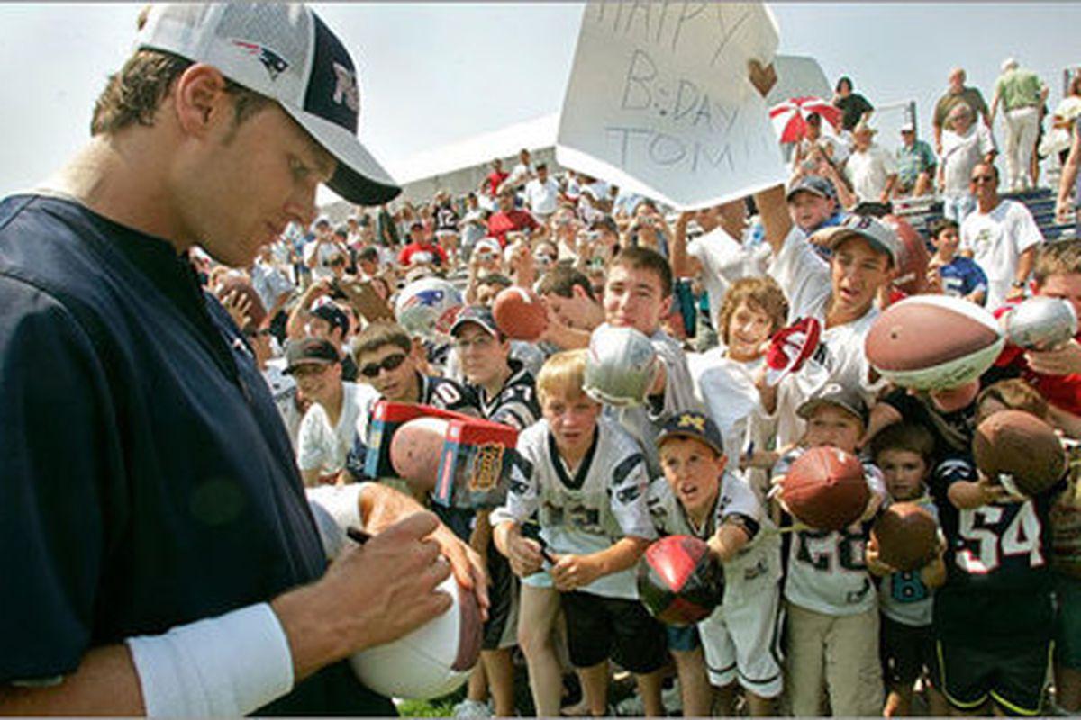 New England Patriots Links 7/21/10 - Veterans Report To