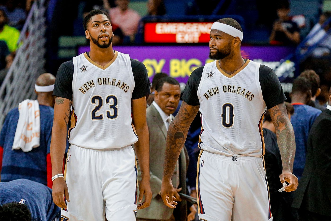innovative design 4ecfa 77798 Shooting is Overrated: Anthony Davis and DeMarcus Cousins ...