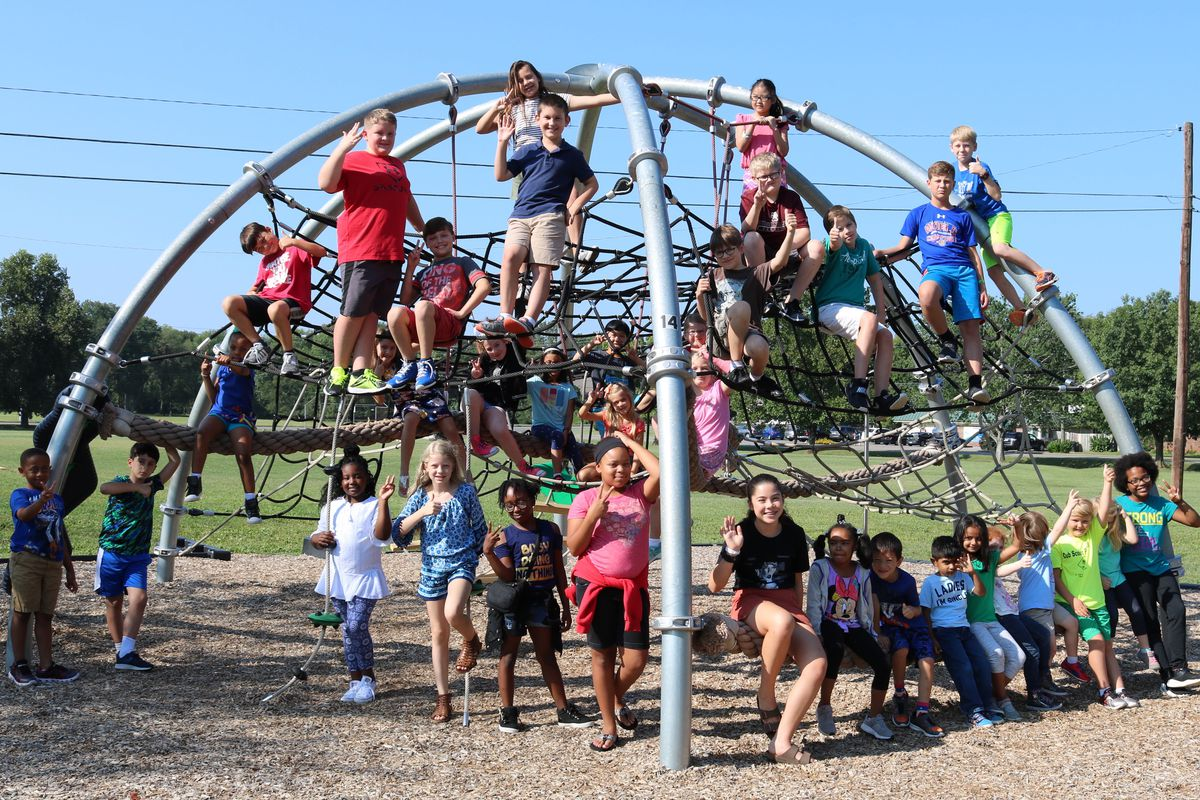 Students take a break at Discovery School, a K-6 academic magnet school in Murfreesboro. Discovery is one of six Tennessee schools and 349 nationwide recognized  as a National Blue Ribbon School for 2018.