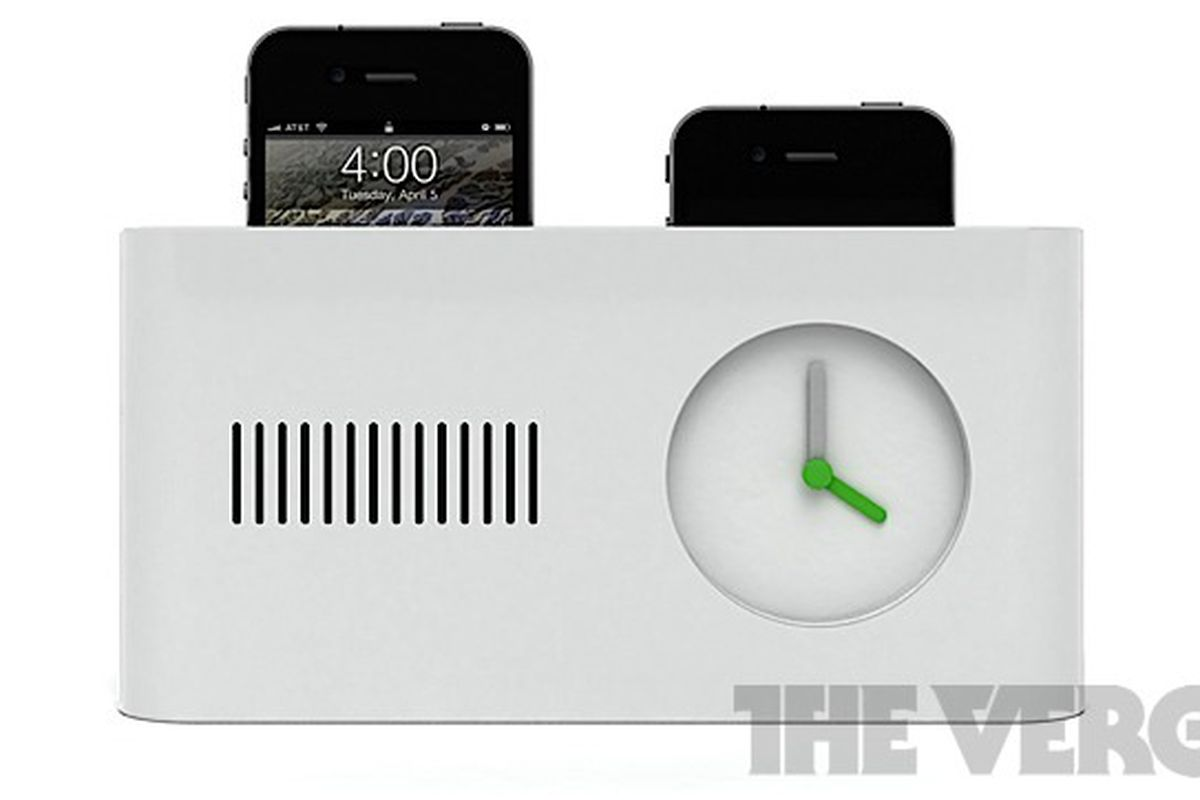 Day Maker Alarm Clock Pops Up Your Iphone Like A Toaster The Verge
