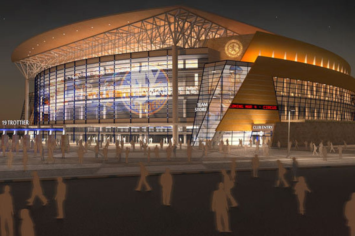 Arena Rendering Courtesy of the NY Islanders team site.