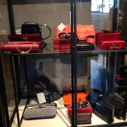 Leather goods and wallets, $99