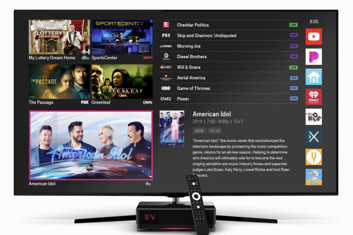 T-Mobile relaunches Layer3 TV service as TVision Home - The