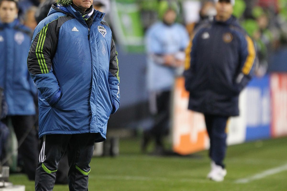 Sigi Schmid has been forced into less than ideal circumstances due to one player quitting, and 4 other players on the spine being injured.