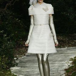 Metallic leggings optional. By Chanel.