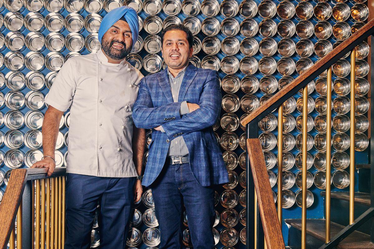 Gurpreet Singh and Jimmy Rizvi at Gupshup