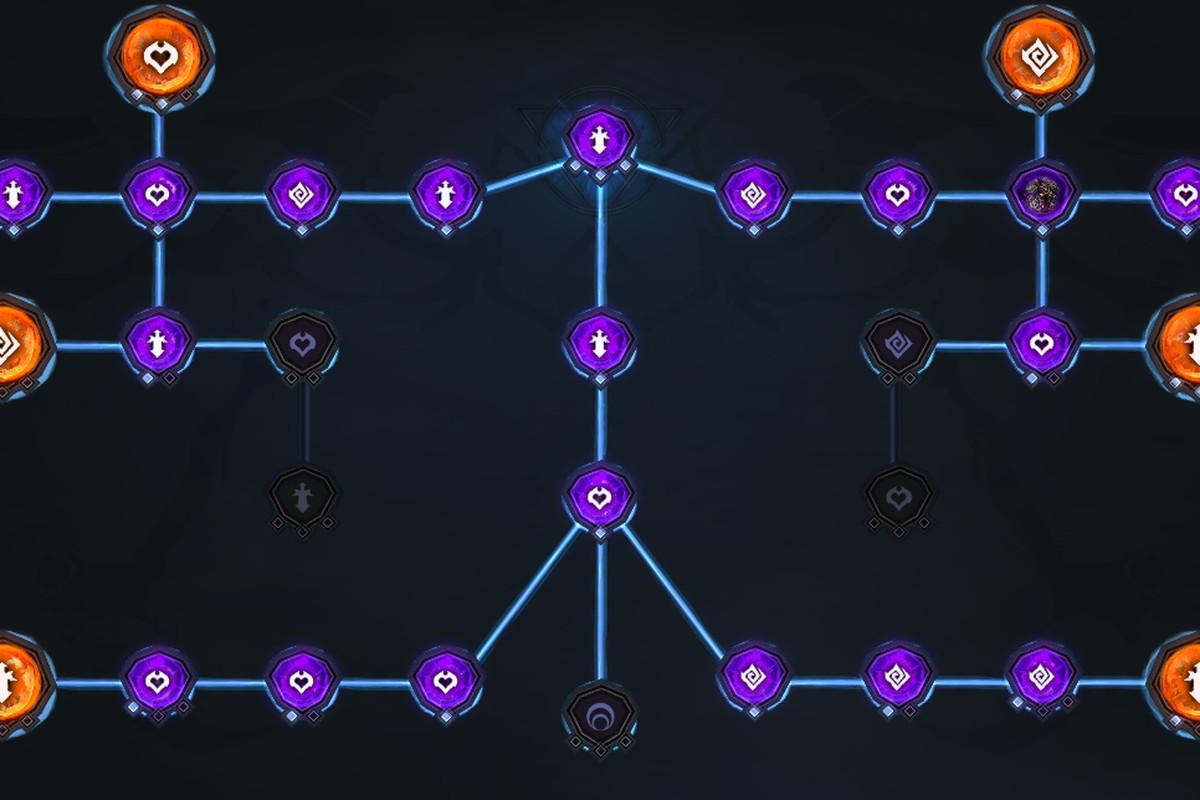 Darksiders Genesis Creature Core tree