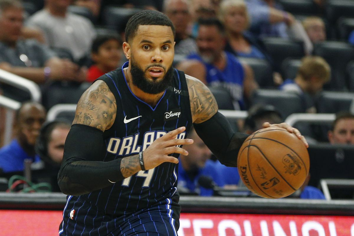 Image result for dj augustin usa today sports