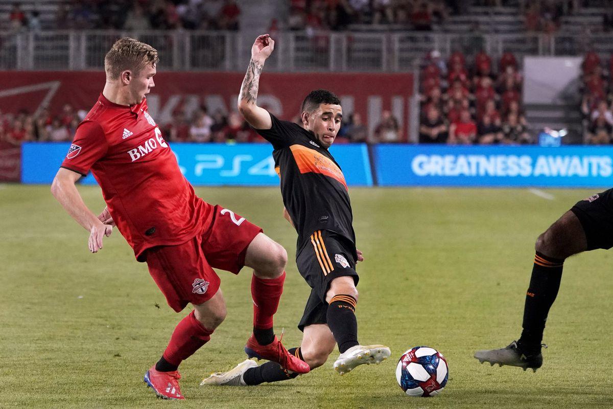 SOCCER: JUL 20 MLS - Houston Dynamo at Toronto FC
