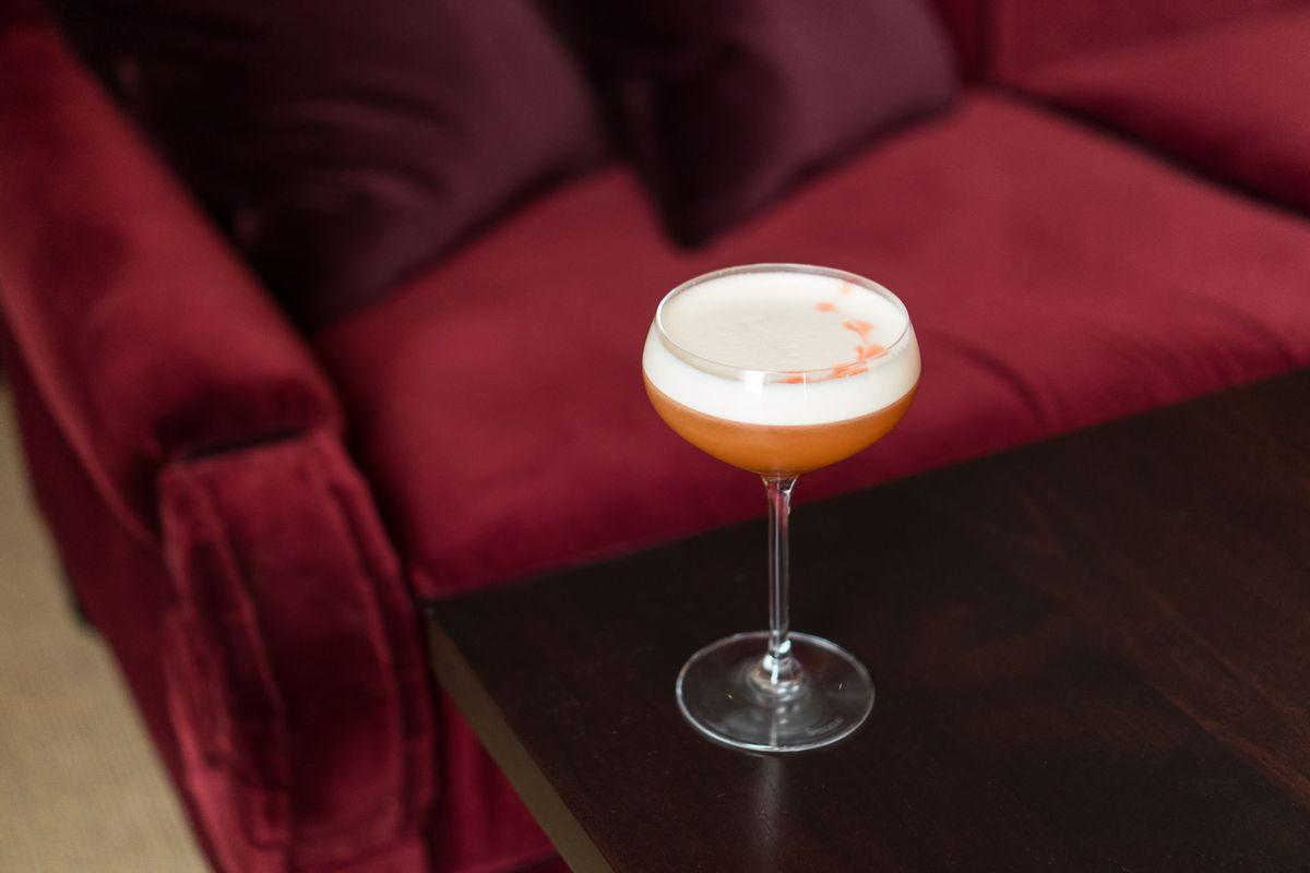 Amaretto sour at NoMad Bar