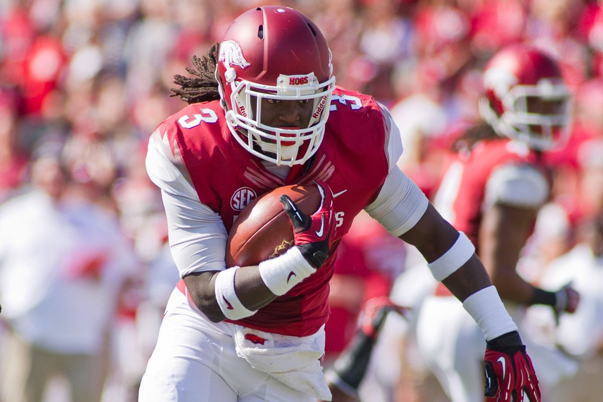 Will Alex Collins be a first round draft pick someday?