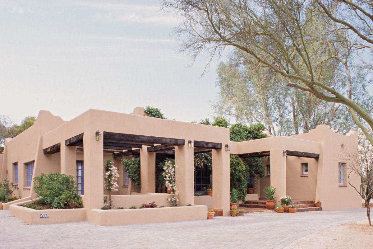 Tucson house exterior