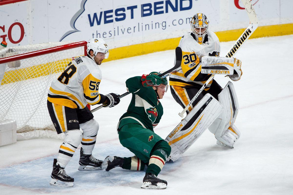 NHL: Pittsburgh Penguins at Minnesota Wild