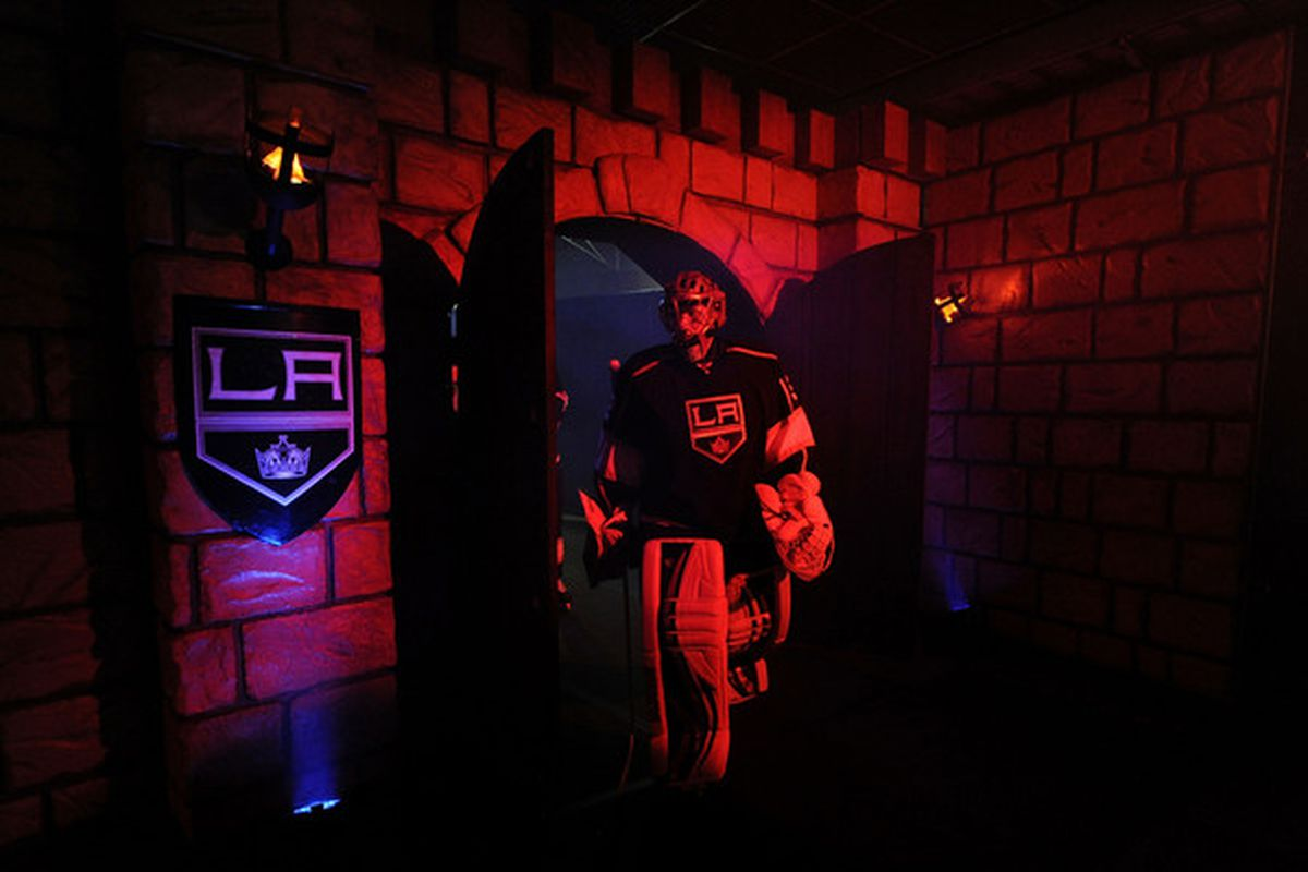 We should get Hank a cool castle with mood-lighting. (Photo by Harry How/Getty Images)