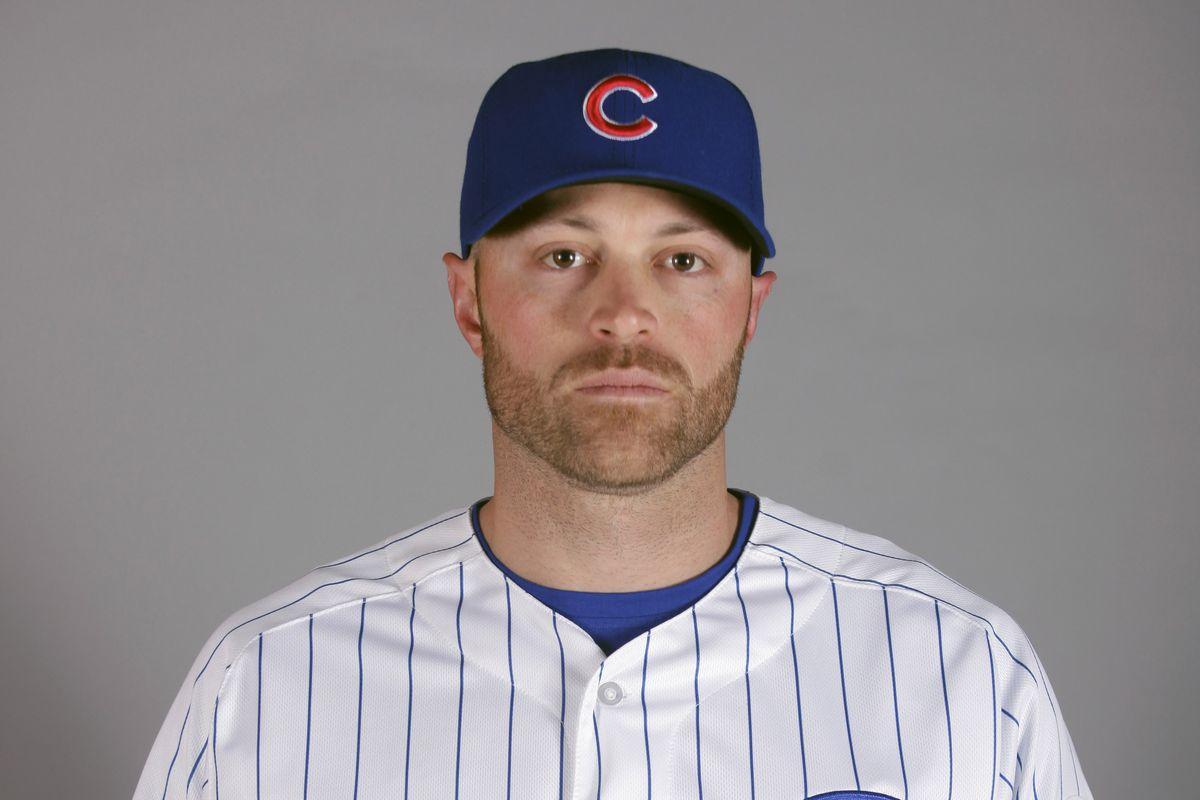 Nate Schierholtz is a Cub... for now.
