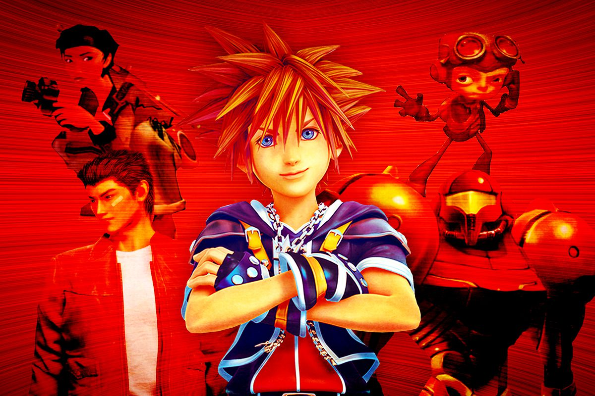 Collage of characters from 'Kingdom Hearts III' and other gaming sequels