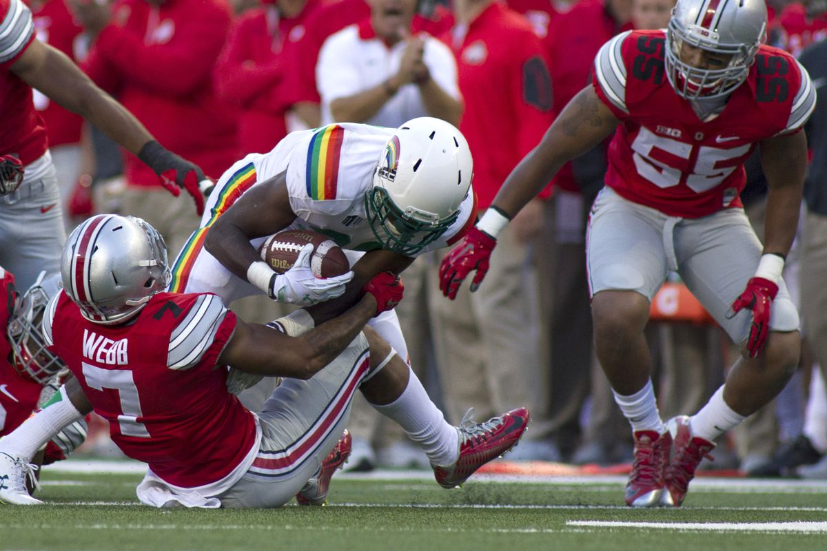 Damon Webb is cleared to play for Ohio State after serving a suspension.