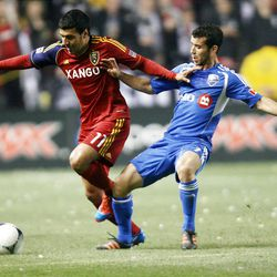 RSL's Javier Morales practiced without limitations on Wednesday and should be back on the field soon.