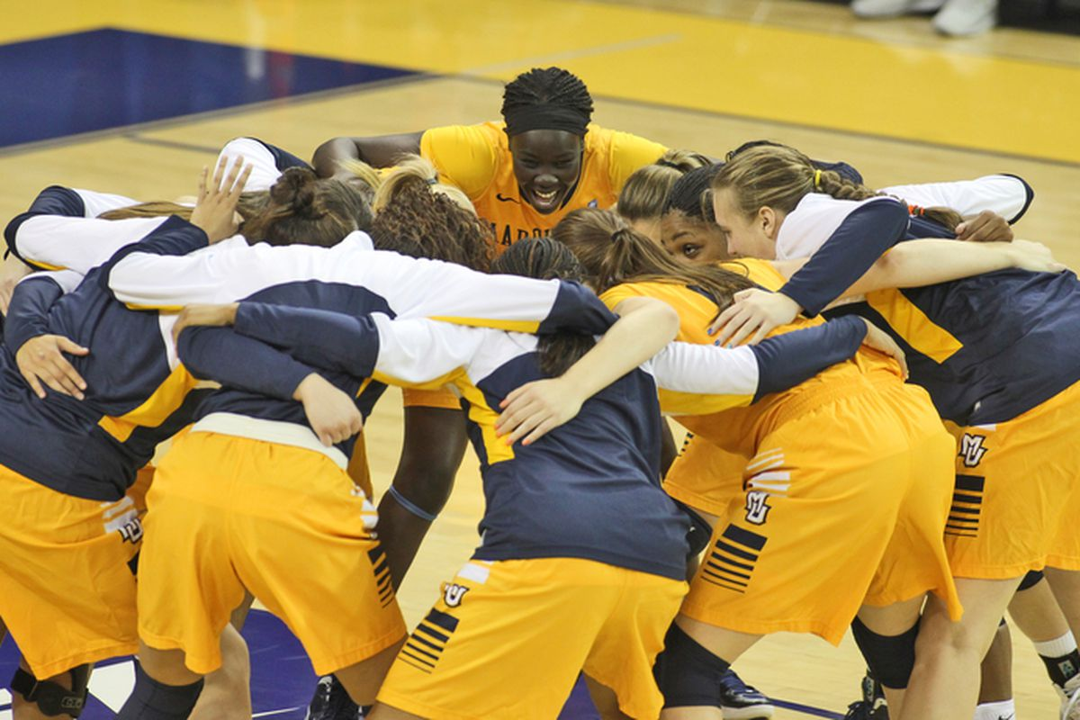 Five Golden Eagles scored in double digits in their victory over Providence.