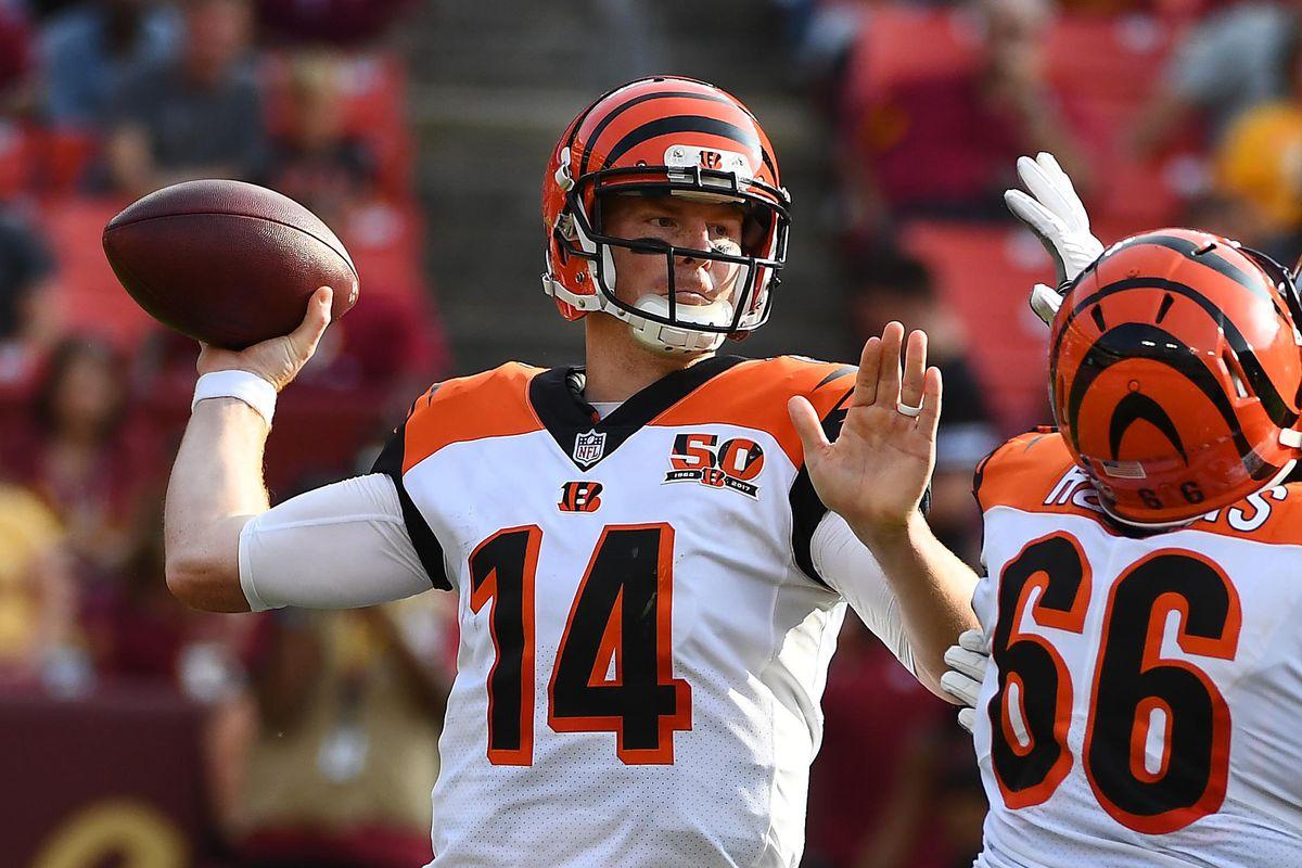 NFL: Cincinnati Bengals at Washington Redskins