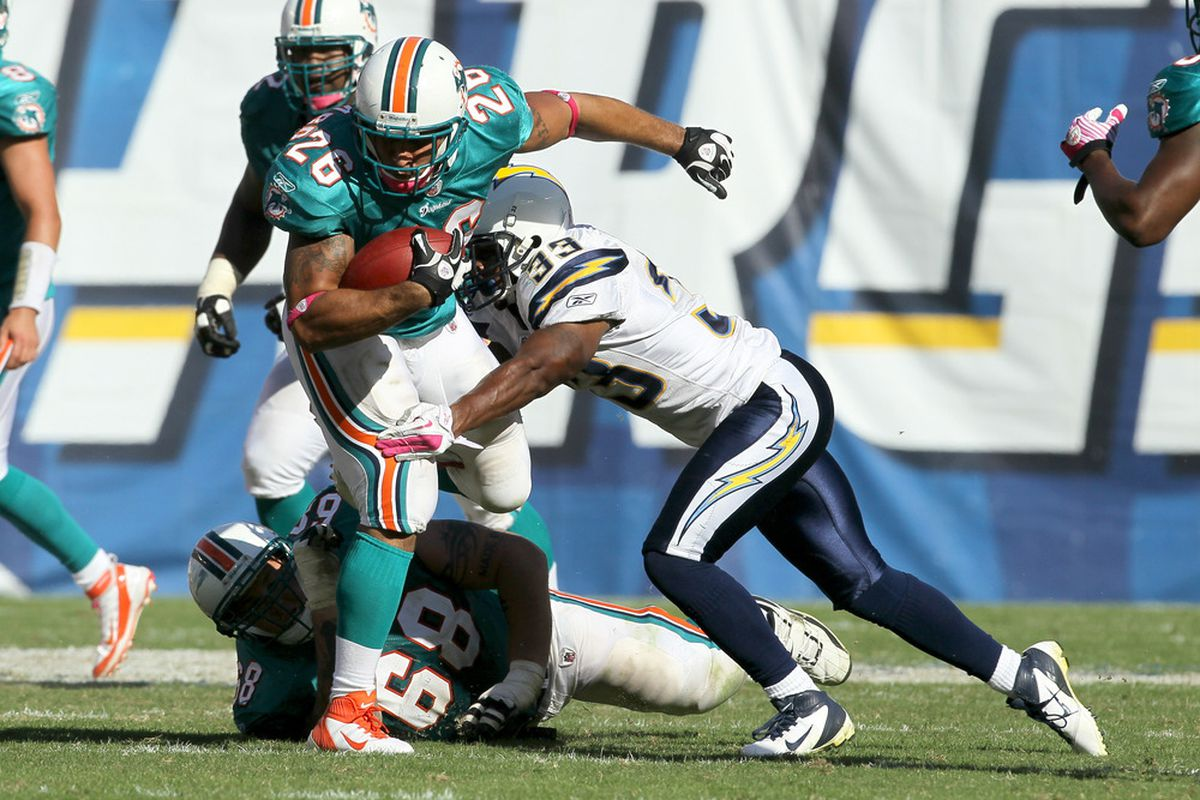 Is Lex Hilliard's future in jeopardy with Jerome Messam coming to Miami? (Photo by Stephen Dunn/Getty Images)