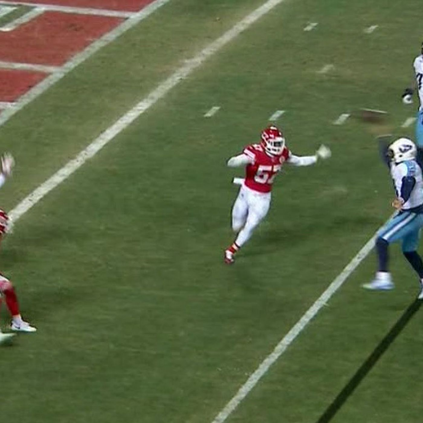 Titans vs. Chiefs: Marcus Mariota caught his own TD and it changed ...