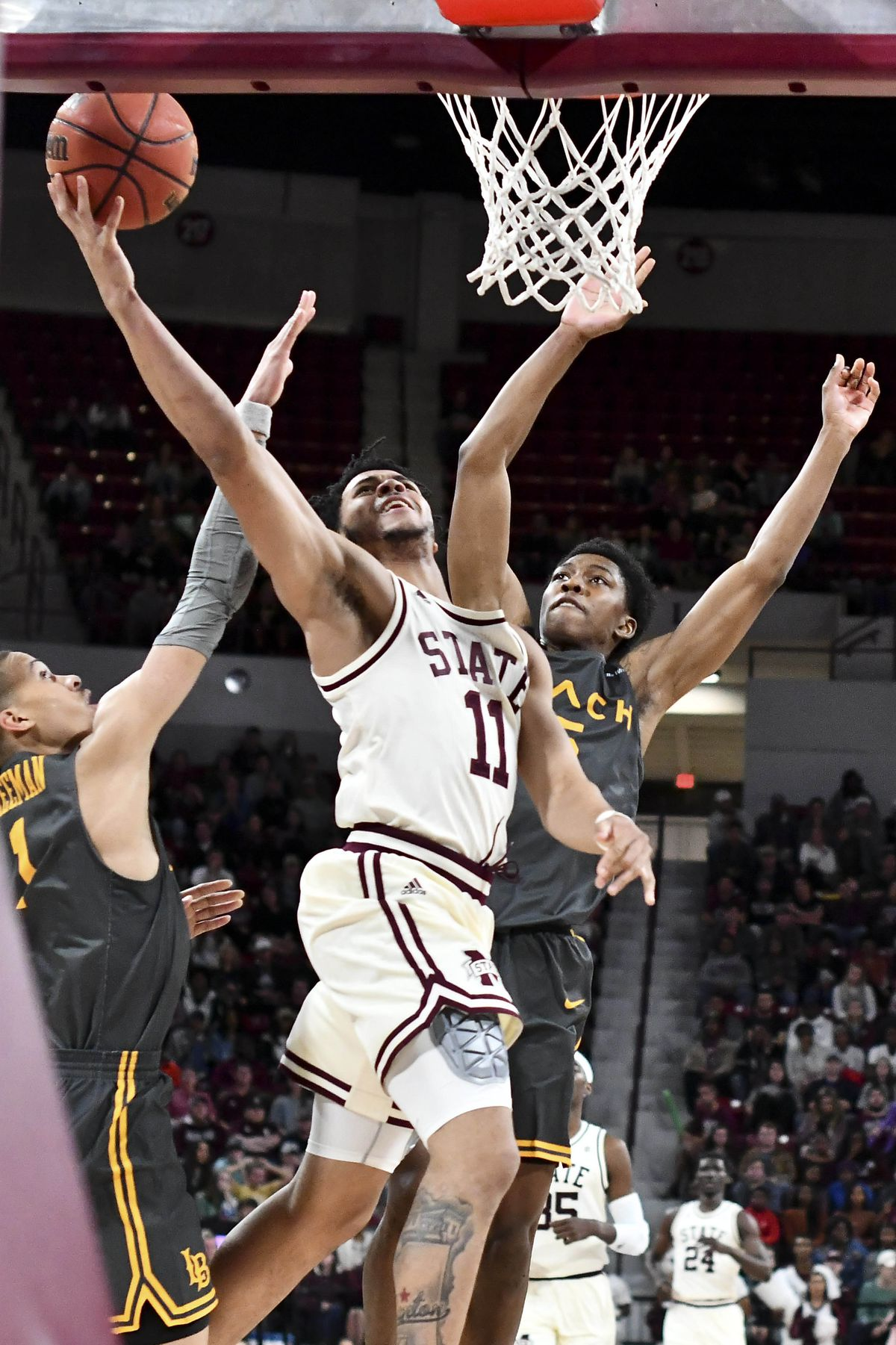 NCAA Basketball: Long Beach State at Mississippi State