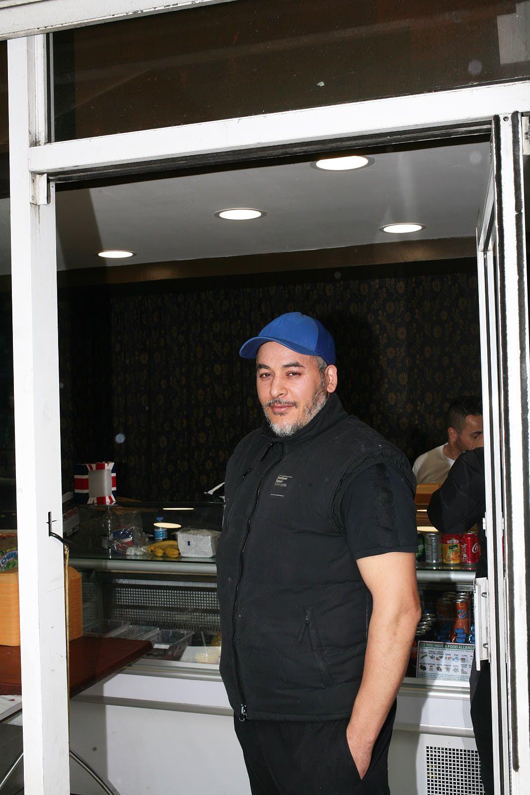 Farouk Izouaouene, owner of El Marsem, a new Algerian bakery on Old Kent Road