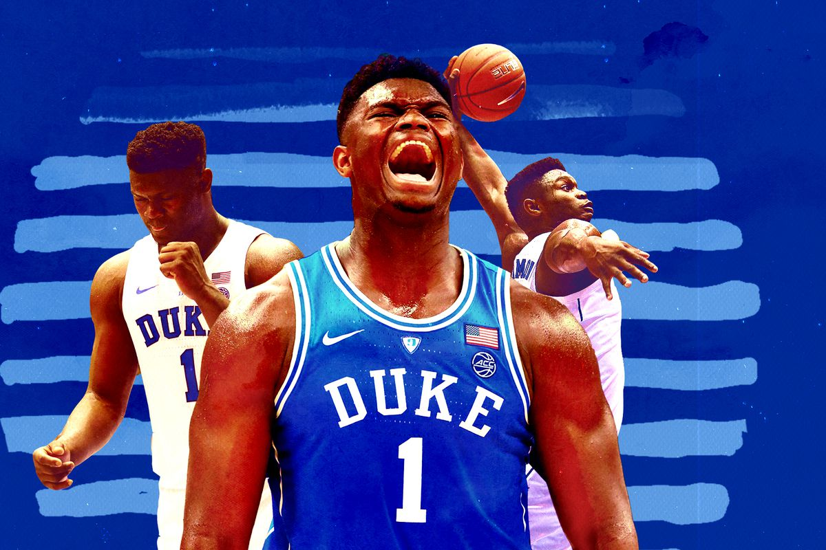 Zion Williamsons Best Dunks At Duke Ranked Sbnationcom