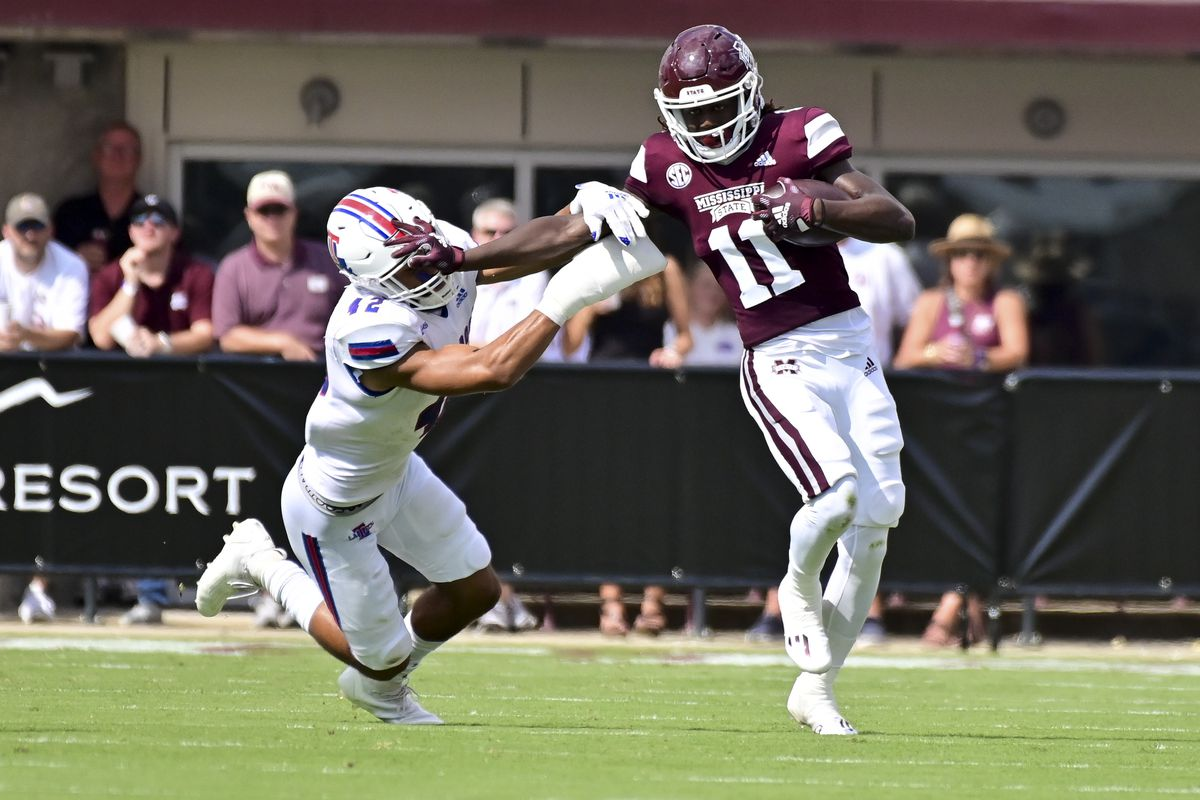 NCAA Football: Louisiana Tech at Mississippi State