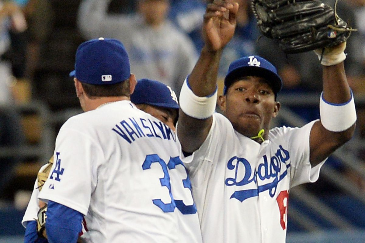 Scott Van Slyke and Yasiel Puig were big contributors to the Isotopes and Lookouts during the first half of the season