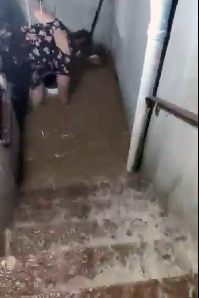 Marlén Romero's basement apartment in Corona, Queens, flooded during Hurricane Ida. Sept. 1, 2021.